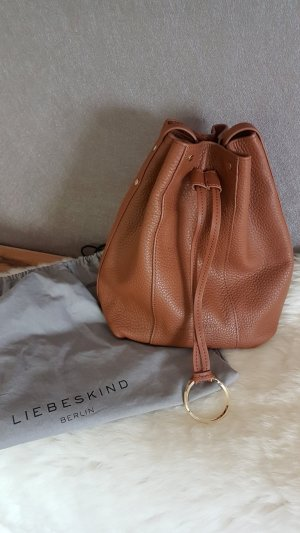 Liebeskind Crossbody bag cognac-coloured