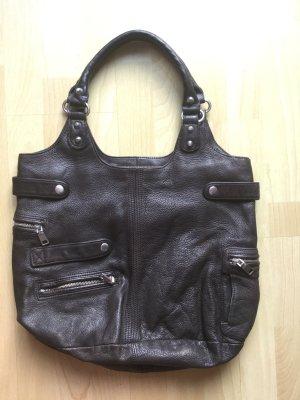 Liebeskind Tasche dunkelbrauner Shopper