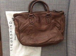 Liebeskind Bolsa marrón Cuero
