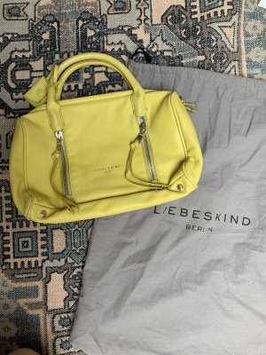 Liebeskind Berlin Carry Bag primrose-yellow leather
