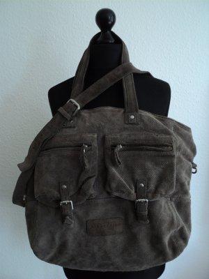 Liebeskind Tasche grau nubuk