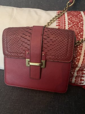 Liebeskind Crossbody bag gold-colored-bordeaux leather