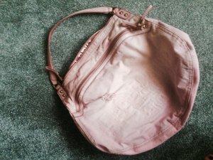 Liebeskind tasche jeans vega denim leder rosa