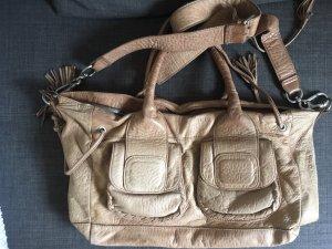 Liebeskind Berlin Handbag beige leather