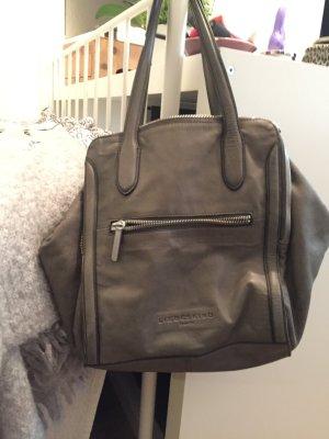 Liebeskind Tasche Leder grau