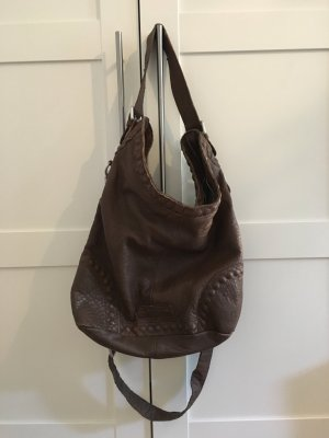 Liebeskind Crossbody bag bronze-colored-light brown leather