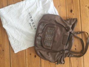 Liebeskind Bolso marrón grisáceo-marrón claro