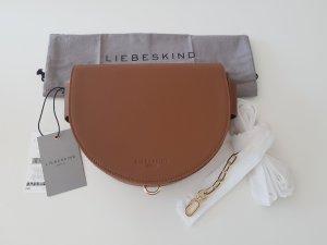Liebeskind Berlin Handbag brown-cognac-coloured leather