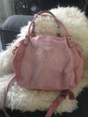 Liebeskind tasche rosa jeans amanda denim rosa