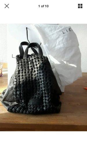 Liebeskind tasche schwarz nood Rucksack noda