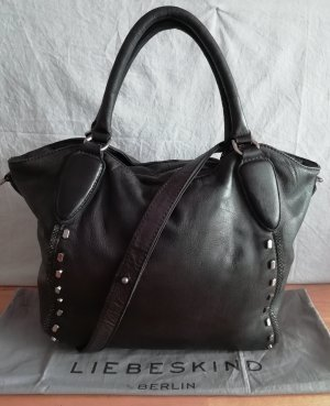 Liebeskind Berlin Crossbody bag black leather