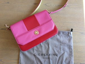 Liebeskind Handbag magenta leather