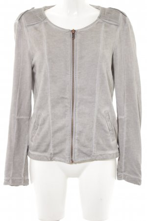 Liebeskind Between-Seasons Jacket grey brown biker look