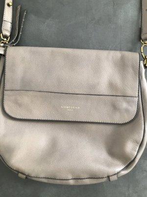 Liebeskind Berlin Shoulder Bag grey brown leather