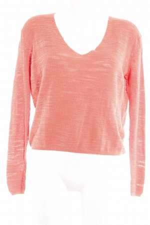 Liebeskind V-Neck Sweater salmon casual look