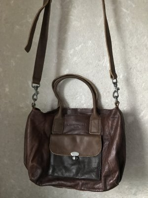 Liebeskind Berlin Carry Bag bronze-colored-black brown leather