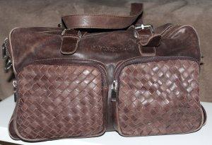 LIEBESKIND ♥️ wunderschöne Tasche Ledertasche braun woven geflochten Vintage
