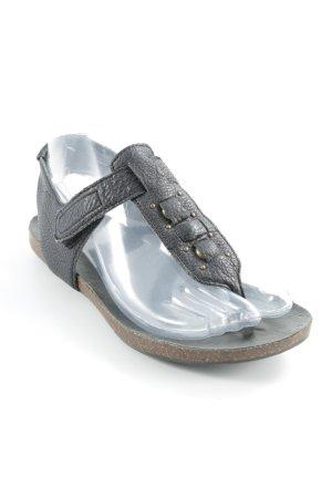 Liebeskind Zehentrenner-Sandalen schwarz Casual-Look