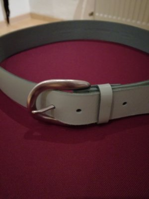 Liebeskind Leather Belt sage green