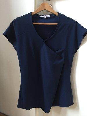 Liebestraum Short Sleeved Blouse dark blue