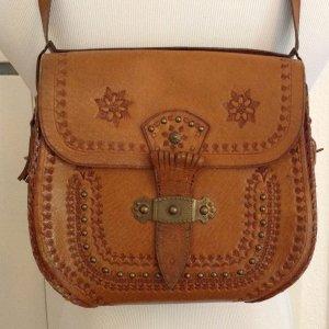 Liebevoll verzierte Vintage Tasche