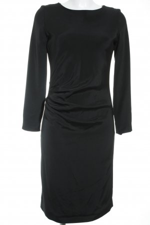 Liebig Langarmkleid schwarz Elegant