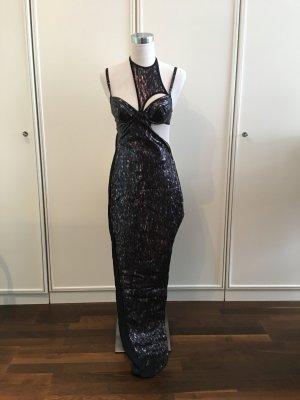 Lieblein Design - mega sexy Kleid - schwarz - Größe 34/36 - glänzend