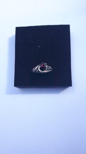 Liebliches Feuer Ring Granat Größe 54