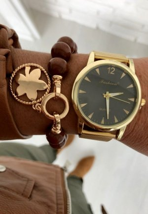 Lieblingsarmband Schmuck Kette Armreifen Perlenschmuck Armband Gold Emblem