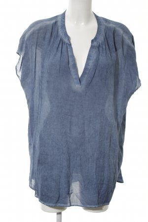 Lieblingsstück ärmellose Bluse blau Casual-Look