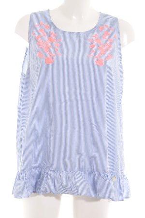 Lieblingsstück ärmellose Bluse Streifenmuster Casual-Look