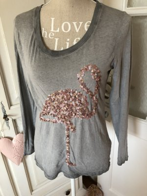 Lieblingsstück Langarm Shirt Flamingo Pailletten besetzt 89€