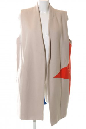 Lieblingsstück Long Knitted Vest natural white-red casual look
