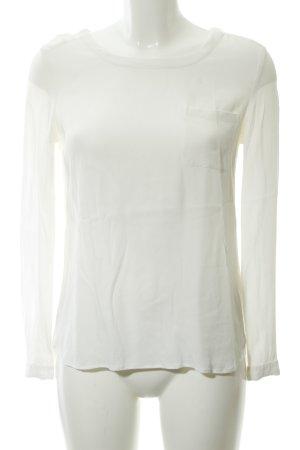 Lieblingsstück Slip-over blouse wolwit zakelijke stijl