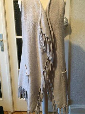 Lieblingsstück Knitted Coat light grey-oatmeal wool