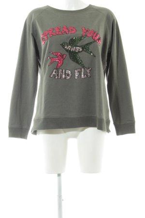 Lieblingsstück Sweatshirt Motivdruck Casual-Look