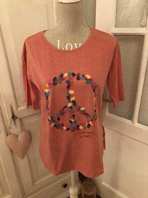 Lieblingsstück T-Shirt Peace Aufdruck neu mit Etikett
