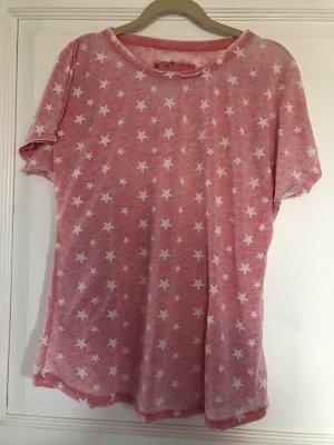 Lieblingsstück T-Shirt rosa / weiß Sterne Gr. L