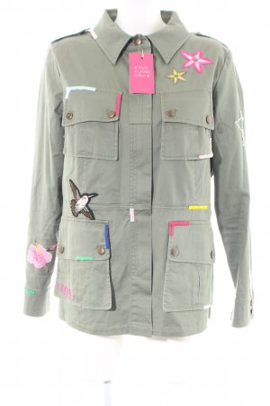 Lieblingsstück Übergangsjacke khaki-pink Casual-Look