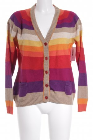Lieblingsstück Wolljacke Colourblocking extravaganter Stil
