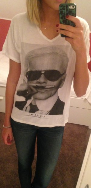 LIFE IS A JOKE Karl Lagerfeld Print von Eleven Paris