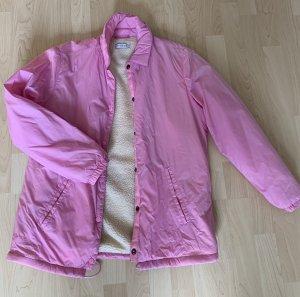 Light Before Dark Impermeabile rosa-bianco