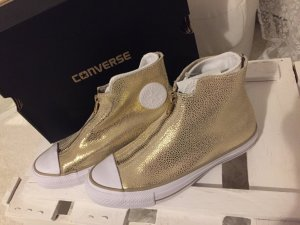 Light Goldne Converse