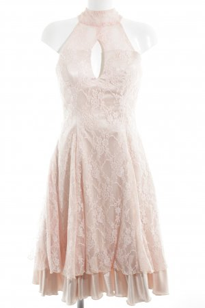 Light In The Box Robe en dentelle vieux rose-rosé style festif