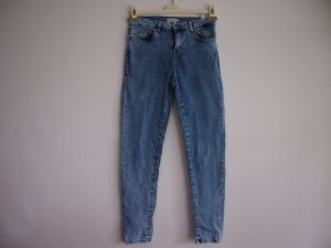 Pimkie Skinny Jeans azure-cornflower blue cotton