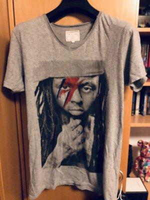 Eleven Paris Shirt met print grijs