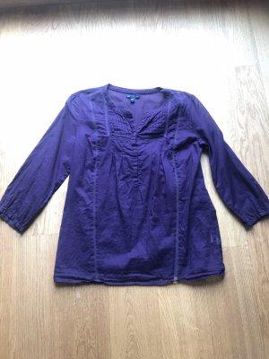 Lila 3/4 Bluse von GAP Größe S