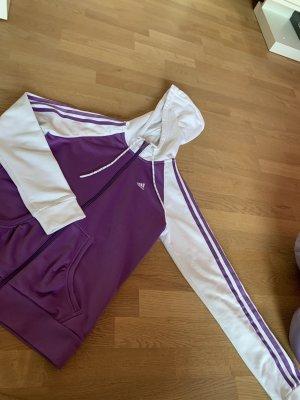 Adidas Originals Giacca sport viola-bianco Poliestere