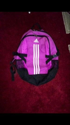 Adidas Sac à dos violet-blanc