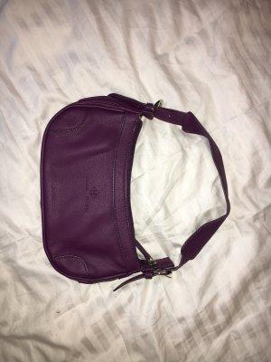 Lila Alza Bags Leder Tasche